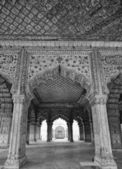 The Red Fort, Diwan-I-Am — Foto Stock