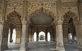 The Red Fort, Diwan-I-Am — Foto de Stock