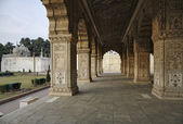 The Red Fort, Diwan-I-Am — Stock Photo