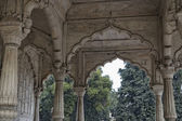 The Red Fort, Diwan-I-Am — Stok fotoğraf