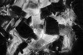 Verbrennung von holz im kamin — Stockfoto