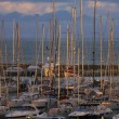 View of luxury yachts in the marina — Stock Photo #40061101