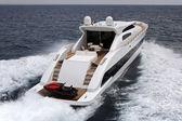 Jacht luksusowy aksamit 83 tecnomar — Zdjęcie stockowe