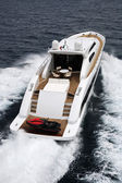Tecnomar Velvet 83 luxury yacht — Stock Photo