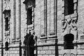 The Bourbonist Prison facade — Stock Photo