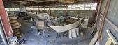 Yates de lujo en construcción — Foto de Stock