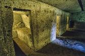 Etruscan necropolis — Stock Photo