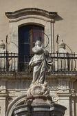 Baroque Immacolata statue — Stockfoto