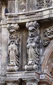 Fachada do edifício barroco — Fotografia Stock