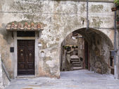 Italy, tuscany, Capalbio, external walls of the old town — Stock Photo