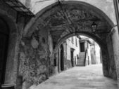 Italy, tuscany, Capalbio, external walls of the old town — Stockfoto