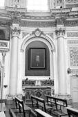 Włochy, sycylia, scicli, katedra barokowy widok wnętrza św — Zdjęcie stockowe