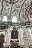 Italie, sicile, scicli, vue intérieure baroque cathédrale de saint-jean — Photo