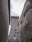 Italy, tuscany, Capalbio, medieval tower — Stock Photo