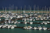 Italy, Sicily, Mediterranean sea, Marina di Ragusa — Stock Photo
