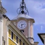 Italy, Lazio, Anagni, medieval clock tower — Stock Photo #46032587