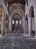 Italy, Anagni, medieval St. Mary Cathedral facade — Foto de Stock