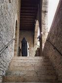 İtalya, anagni, ortaçağ meryem ana katedrali, kardeş — Stok fotoğraf