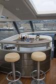 Lyx yacht dinette — Stockfoto