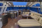 Роскошные яхты, dinette — Стоковое фото