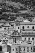 Italy, Sicily, Scicli, view of the town — Stock Photo
