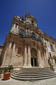 St. John Cathedral baroque facade — Stock Photo