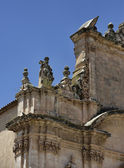 Madonna Del Carmine church baroque facade — Stock Photo
