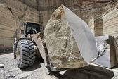 大理石切断工場 — ストック写真