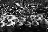 Drijvende markt — Stockfoto