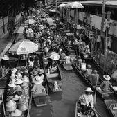 水上マーケット — ストック写真