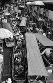 Mercado flotante — Foto de Stock