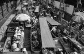 Schwimmende markt — Stockfoto