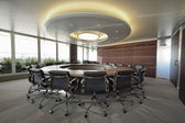 Corporate business meeting room — Stock Photo