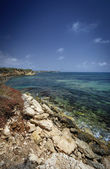 Sicilian southern east coastline — Stock Photo