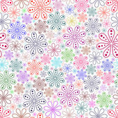 Colorful flower on white background. — Stock Vector