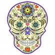 Abstract colorful skull — Stock Vector #13038725