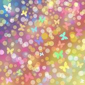 Colores de fondo con las mariposas — Foto de Stock