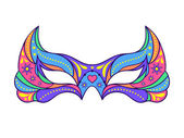 Carnival mask — Stock Vector