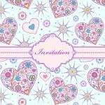 Colorful invitation card — Stock Vector #18506279