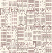 Old buildings — Stock Vector
