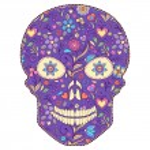 floral skull — Stock Vector #27303659
