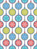 Abstract christmas snowflakes — Stock Vector