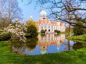 Neus Rathaus Hannover — Stock Photo