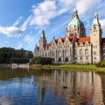 Hanover city-hall — Stock Photo #30498693