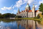 Hanover city-hall — Stock Photo