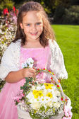 Wedding - Flower Girl — Foto de Stock