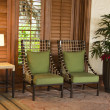 Tropical furniture — Stock Photo