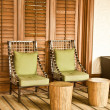 Tropical furniture - Stock Photo