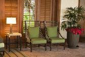 Tropical furniture — Stock Photo