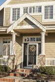 Entrance to a home — Stock Photo